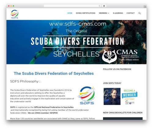 Poseidon template WordPress - sdfs-cmas.com