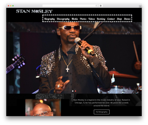 Rock Star Pro WordPress theme - stanmosleysoul.com