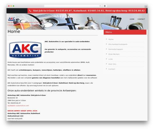 SKT Towing automotive WordPress theme - akc-automotive.com