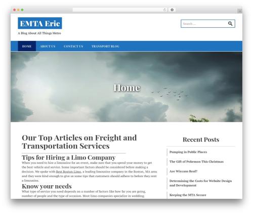 Stucco WordPress free download - emtaerie.com