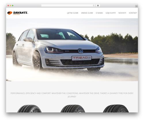 Theme WordPress Carservice - davantigume.com