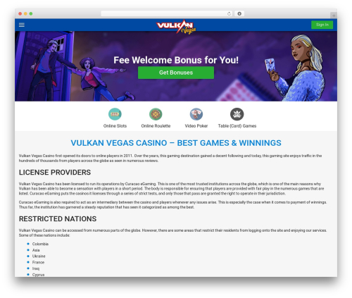 WordPress custom-table-of-contents-plus plugin - vulkanvegas-online.com