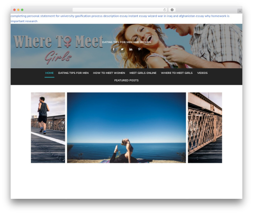 Type Plus WP theme - wheretomeetgirls.com