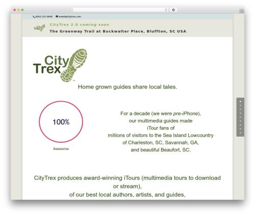 WordPress theme Aspen Roots - citytrex.com