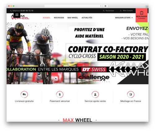 WordPress theme Sportbikes - max-wheel.com