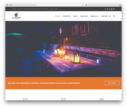 Best WordPress template Artcore - jayhawk-painting.com