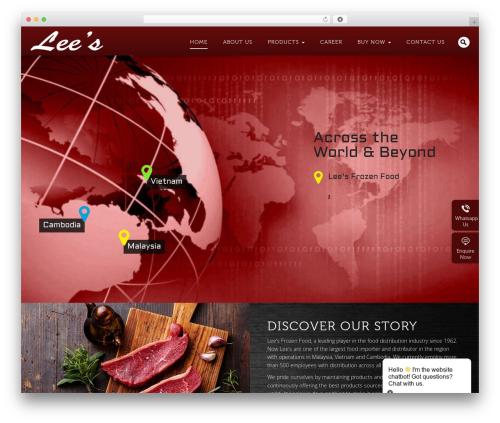 Ninja theme WordPress - leesfrozen.com