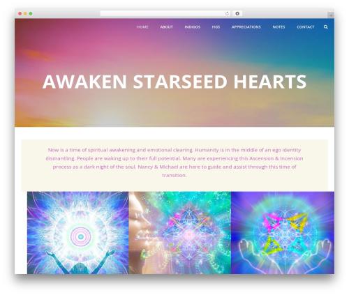 Planar Lite template WordPress free - awakenstarseedhearts.com