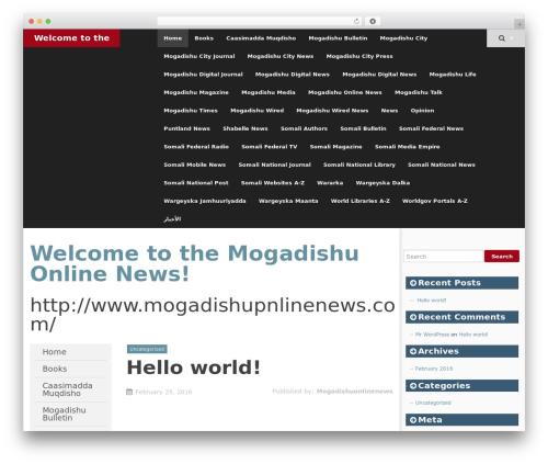 SmartAdapt free WordPress theme - mogadishuonlinenews.com