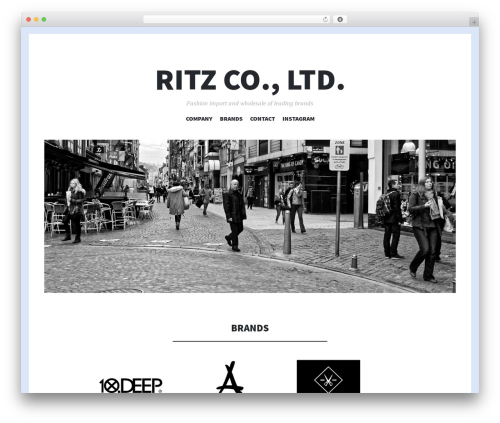 Theme WordPress Illustratr - ritz-japan.com