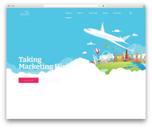 Theme WordPress Pitch - airlinkusa.com