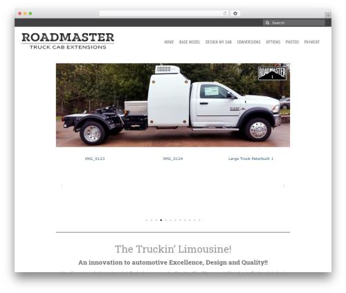 Virtue free WordPress theme - roadmastertruck.com