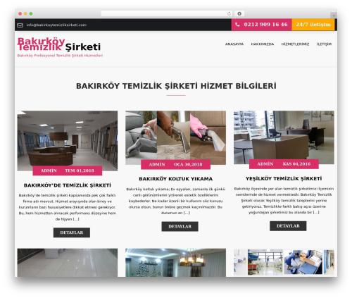 WordPress website template SKT Towing - bakirkoytemizliksirketi.com