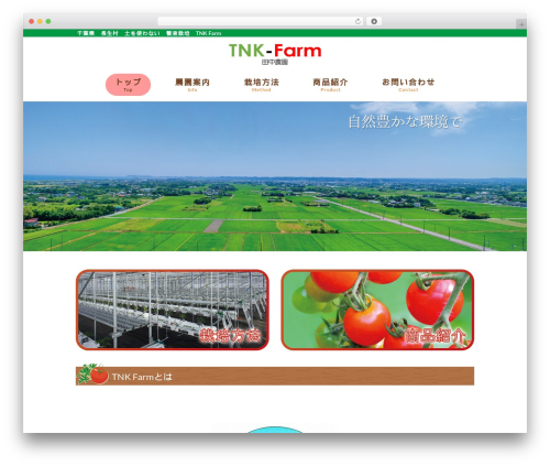 WP theme mrp08 - tnk-farm.com