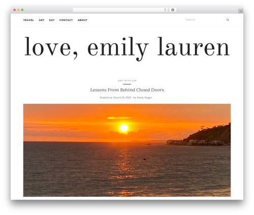 Activello WordPress theme download - loveemilylauren.com