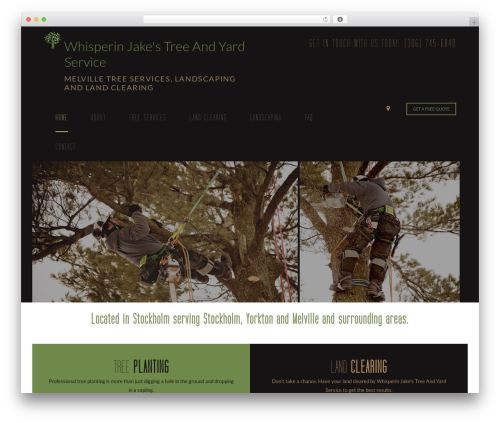 Arborist 2 - V8 best WordPress theme - stockholmtreeservices.com