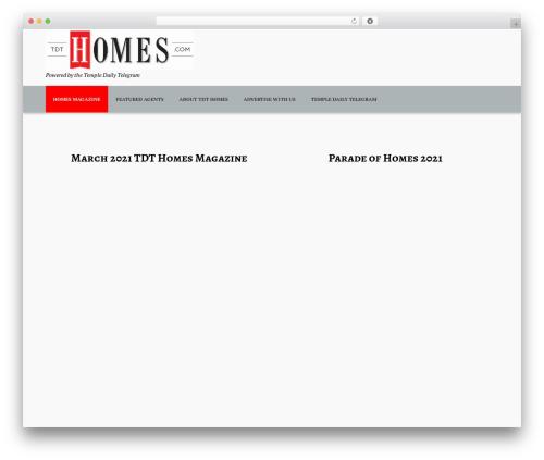 BestDeals premium WordPress theme - tdthomes.com
