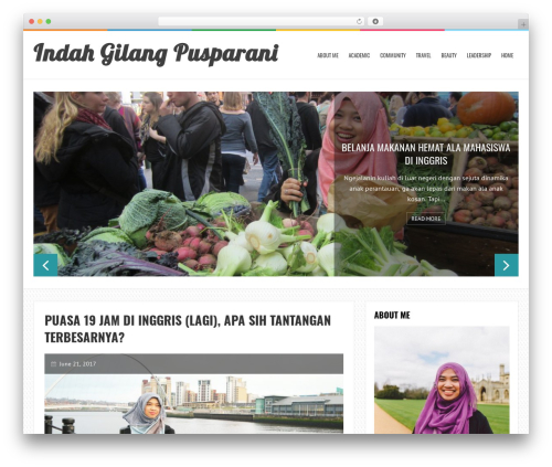 LiveBlog WordPress theme - indahgilang.com