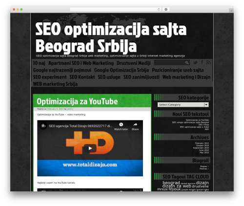 Ping WordPress theme - seooptimizacijasajta.com