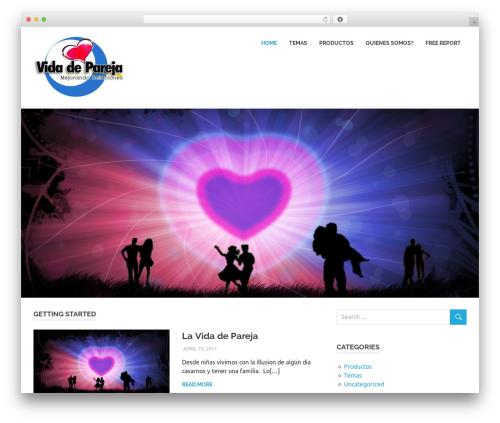 Poseidon WordPress template - vidadepareja.com