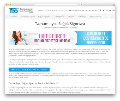 Theme WordPress Impreza - tamamlayicisagliksigortasi.com