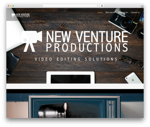 Themify Ultra WordPress video theme - newventureproductions.com