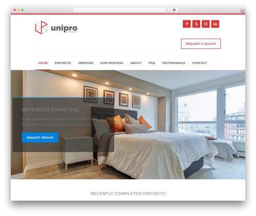 WordPress template Reneva - uniprorenovations.com