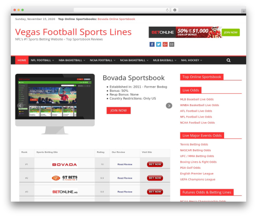 ColorMag theme free download - vegasfootballsportslines.com