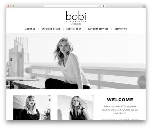 Durand WordPress page template - bobiwholesale.com
