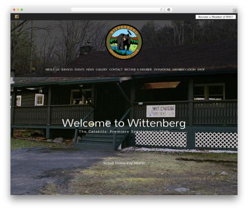 HorseClub theme WordPress - wittenbergsportsmensclub.com
