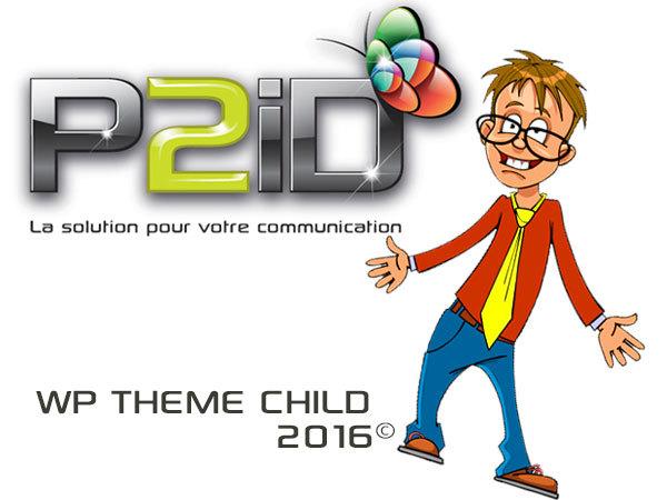 P2id Thème theme WordPress