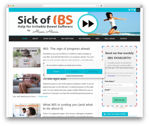 Ribosome Pro best WordPress theme - sickofibs.com