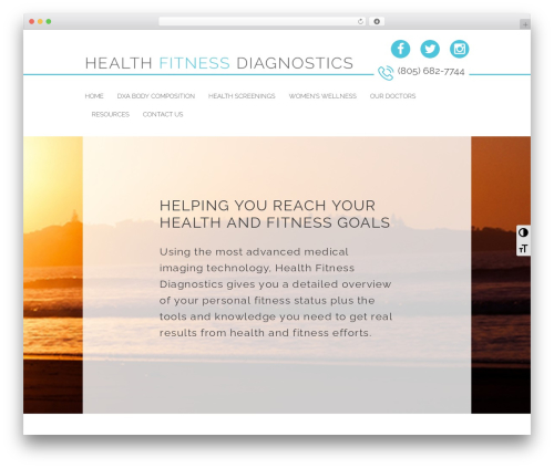 soulmedic Child WordPress theme - healthfitnessdiagnostics.com