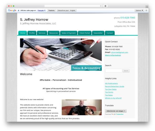 Theme WordPress Customized - sjhorrow.com