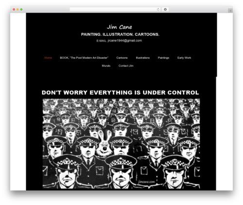 Twenty Thirteen free WordPress theme - jimcane.com