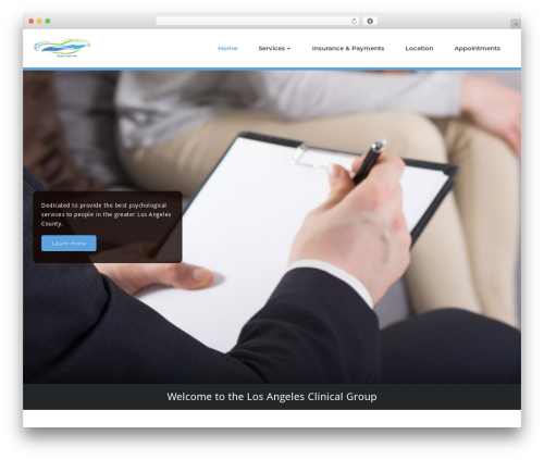 WP template Busiprof - losangelesclinicalgroup.com