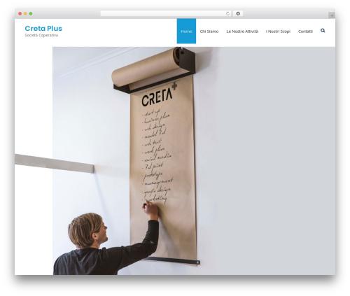 Business Club template WordPress free - cretaplus.com