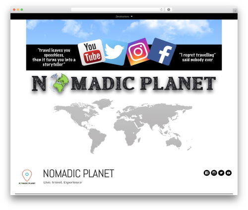 DailyMag theme WordPress - nomadic-planet.com