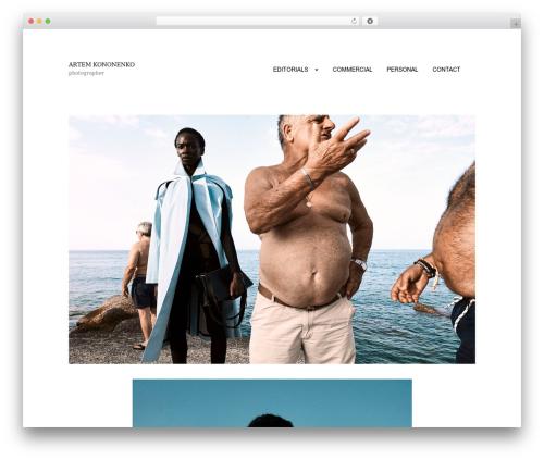 PhotoPress WordPress free download - artemkononenko.com