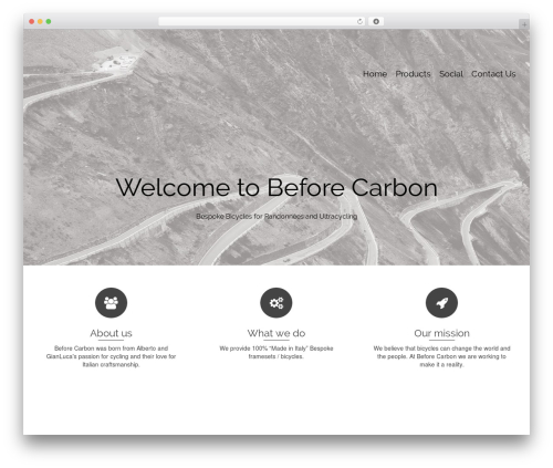 Pinnacle WordPress template free - beforecarbon.com