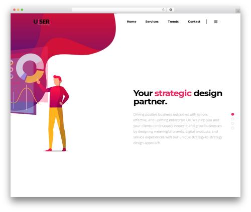 Pitch WordPress theme - uiser.com