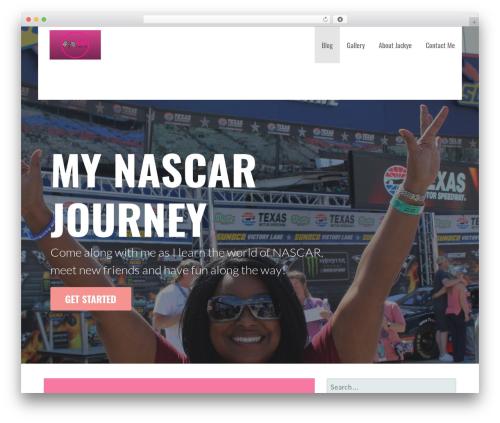 Primer free WordPress theme - newnascarfan.com