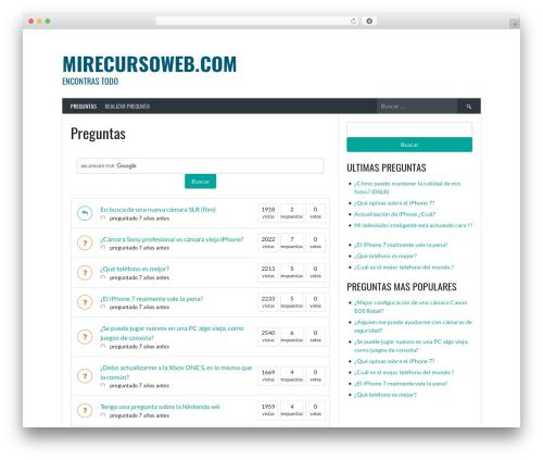 Free WordPress DW Question & Answer plugin - mirecursoweb.com