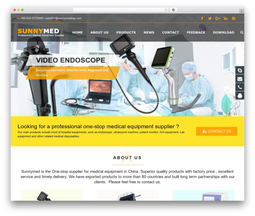 sohowp theme WordPress - sunnymedgz.com