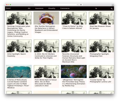 SSMAG template WordPress - bqxpd.com