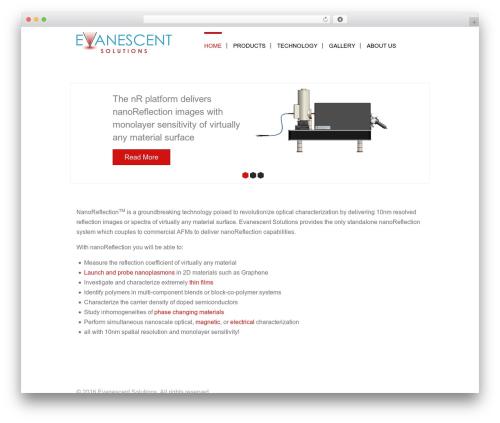 Theme WordPress Epsilon - evanescentsolutions.com