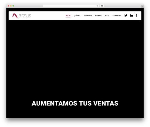 Theme WordPress Qaro - arzus.com