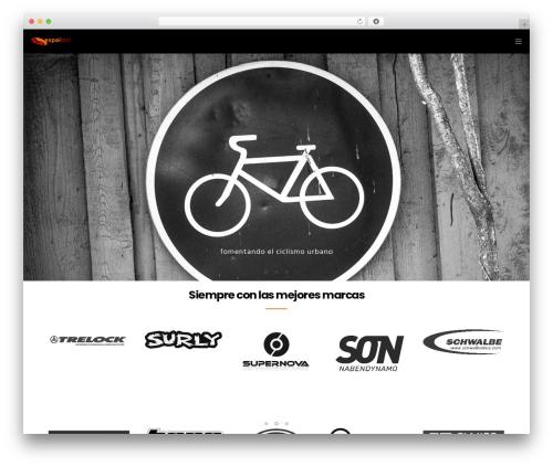 WordPress template Movedo - espaibici.com