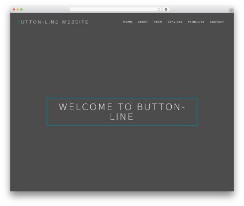 WordPress theme October - button-line.com