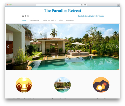 Customizr WordPress theme free download - theparadiseretreat.com